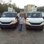 Δύο σύγχρονα ανυψωτικά καλαθοφόρα οχήματα στην υπηρεσία των πολιτών του Δήμου Παύλου Μελά