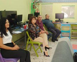 Συνάντηση εργασίας των Προέδρων της Επιτροπής Α/θμιας Εκπ/σης Πλατανιά – Χανίων με τον Εντεταλμένο Συμβούλο Παιδείας