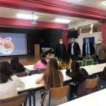 Ενημερωτική ομιλία για την πρόληψη του καρκίνου του μαστού και του τραχήλου στις μαθήτριες του 4ου Λυκείου Παλαιού Φαλήρου