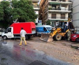 Διακοπή υδροδότησης σε μεγάλο τμήμα του Παλαιού Φαλήρου