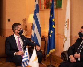 Η ύψιστη διάκριση της Πόλεως των Αθηνών στον Κύπριο Πρόεδρο Ν. Αναστασιάδη από τον Δήμαρχο Αθηναίων