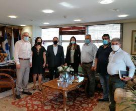 Αμπατζόγλου: «Επίσπευση των αναγκαίων έργων για το Μαρούσι από την Περιφέρεια Αττικής»