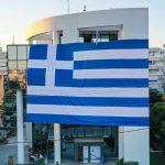 Το Δημαρχείο Γλυφάδας »ντύθηκε» με την ελληνική σημαία