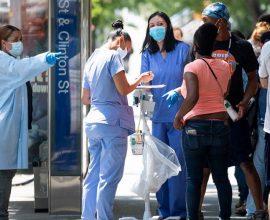 ΗΠΑ: Τουλάχιστον 500.000 μολύνσεις σε μια εβδομάδα