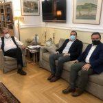 Συνάντηση του Περιφερειάρχη Π. Νίκα με τον Δήμαρχο Καλαμάτας