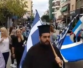 Ένταση στην Πάτρα στην πορεία του ΟΧΙ – Κινητοποίησαν αντιεξουσιαστές