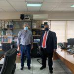 Επίσκεψη του Βουλευτή Β. Σπανάκη, στο γραφείο του Δημάρχου Μοσχάτου-Ταύρου