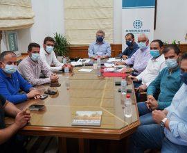Αναπτυξιακά θέματα και έργα του Δήμου Μαλεβιζίου στη συνάντηση Περιφερειάρχη και Δημάρχου