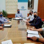 Αναπτυξιακά θέματα και έργα του Δήμου Οροπεδίου Λασιθίου στη συνάντηση Περιφερειάρχη Κρήτης και Δημάρχου