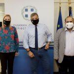 Συνάντηση του Περιφερειάρχη Αττικής με τον Δήμαρχο Κυθήρων Σ. Χαρχαλάκη