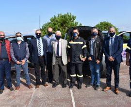 Περιφέρεια Β. Αιγαίου: Ενίσχυση της πολιτικής προστασίας με δύο ακόμη πυροσβεστικά οχήματα