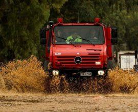 Έντονη κακοκαιρία στην Κρήτη – Επιχειρήσεις απάντλησης νερού σε Ηράκλειο και Χανιά