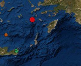 ΤΩΡΑ: Ισχυρός σεισμός 4,9 Ρίχτερ στα Δωδεκάνησα