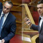 Πρόταση μομφής κατά του Σταϊκούρα κατέθεσε ο Τσίπρας