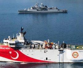 Νέα τουρκική παράνομη NAVTEX, συνεχίζει το Oruc Reis