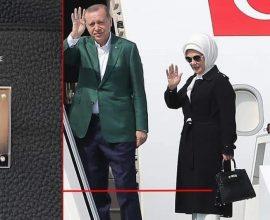 Διασυρμός Ερντογάν – Με τσάντα HERMES 50.000 ευρώ η Εμινέ