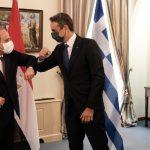 Συνάντηση Μητσοτάκη-Σίσι: Κοινές διαπιστώσεις και σύμπτωση απόψεων για την τουρκική προκλητικότητα