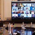 Μητσοτάκης στους Περιφερειάρχες: «Σας χρειαζόμαστε σύμμαχους στην αντιμετώπιση της πανδημίας»