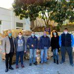 Δήμος Αν. Σάμου: Δωρεά τροφίμων και διαφόρων ειδών από τον Ροταριανό Όμιλο Ηράκλειον «EL GRECO»