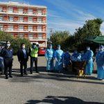 """Δήμαρχος Πύργου: """"Στόχος μας ο περιορισμός της διασποράς του ιού"""""""