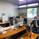 Συζήτηση Δημάρχου Παλλήνης με Πρόεδρο ΠΕΔΑ για τους τρόπους προώθησης προγραμμάτων για τους Δήμους