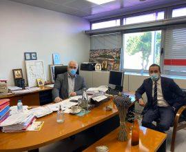 Συζήτηση Δημάρχου Παλλήνης και Προέδρου ΠΕΔΑ για τους τρόπους προώθησης προγραμμάτων για τους Δήμους