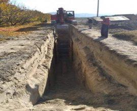Δήμος Έδεσσας: Ξεκίνησε το αποχετευτικό δίκτυο Άρνισσας