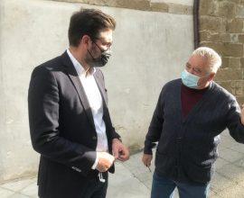 Δήμος Μαλεβιζίου: Στον Κρουσώνα ο Μενέλαος Μποκέας για τα τεστ κορονοϊού στους κατοίκους