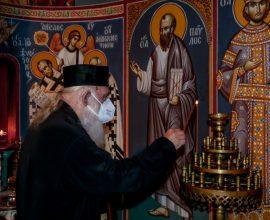 Εξιτήριο πήρε ο Αρχιεπίσκοπος- Το κερί και ο ασπασμός στην Παναγία