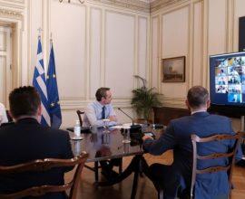 Συνεδριάζει αύριο, το Υπουργικό Συμβούλιο μέσω τηλεδιάσκεψης- Η ατζέντα