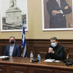 """Ο Υπουργός Δημόσιας Τάξης προήδρευσε σε σύσκεψη στην Π.Ε. Σερρών: """"Καμία ανοχή σε όσους δεν συμμορφώνονται"""""""