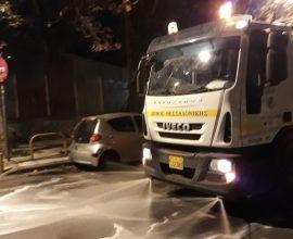 Δήμος Θεσσαλονίκης: Εκστρατεία καθαριότητας με απολυμάνσεις και παρεμβάσεις αντιπλημμυρικής προστασίας