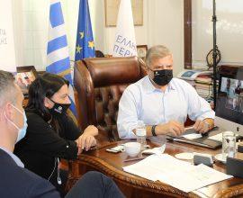 Διαβούλευση Πατούλη με τους 5 Δημάρχους της Π.Ε. Πειραιά με αντικείμενο την αποτελεσματική διαχείριση των στερεών αποβλήτων