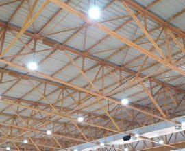 Αντικατάσταση φωτισμού με λαμπτήρες LED στο κλειστό γήπεδο Βριλησσίων