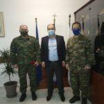 Εθιμοτυπική επίσκεψη Δ.Σ. Ένωσης Στρατιωτικών Π.Ε. Κιλκίς στον Δήμαρχο Κιλκίς