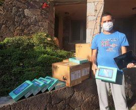 Σαράντα tablet μοίρασε στα σχολεία ο Δήμος Πόρου