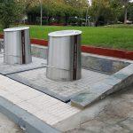 Το Πράσινο Ταμείο χρηματοδοτεί την εγκατάσταση υπόγειων κάδων στην Καλαμαριά