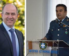 Συνάντηση Δημάρχου Δίου-Ολύμπου με τον Διευθυντή Αστυνομικής Διεύθυνσης Πιερίας