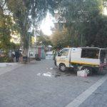Δήμος Ζωγράφου: Νέος καθαρισμός και απολύμανση στην πλατεία Αλεξανδρή (Γαρδένια)