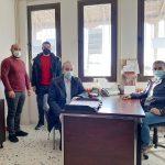 Στο Γυμνάσιο – Λ.Τ. Βερδικούσιας ο Δήμαρχος Ελασσόνας