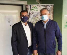 Συνάντηση ΥΠΕΣ με τον Πρόεδρο του ΣΠΑΥ – Οι δράσεις για την θωράκιση και την ανάπτυξη του Υμηττού