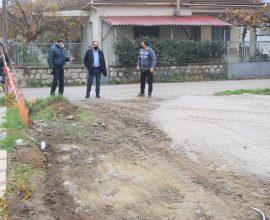 Δήμος Καρδίτσας: Εργασίες συντήρησης και διαμόρφωσης σε χώρο στάθμευσης επί της Παλαιολόγου