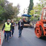 Αμπατζόγλου: «Το πρόγραμμα ασφαλτοστρώσεων εκτελείται με ταχύτητα»