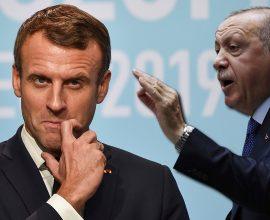 Σε παράνοια ο Ερντογάν: «Ο Μακρόν είναι πρόβλημα για τη Γαλλία, πρέπει να απαλλαγεί το συντομότερο»