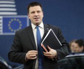 Κορονοϊός: Σε καραντίνα ο πρωθυπουργός της Εσθονίας – «Χάνει» τη σύνοδο κορυφής