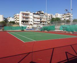 Επαναλειτουργούν για ατομικές προπονήσεις τα γήπεδα τένις του Δήμου Ηρακλείου Αττικής