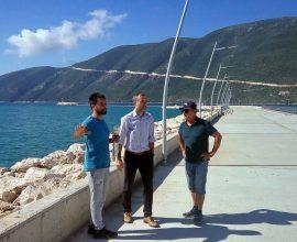 Π.Ε. Λευκάδας: Υπογράφηκε η Σύμβαση για την Προβλήτα στο Λιμάνι Βασιλικής