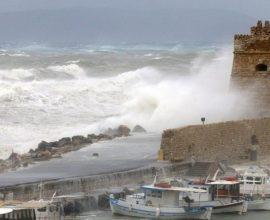 Κρήτη: Προετοιμασία του μηχανισμού Πολιτικής Προστασίας για ακραία καιρικά φαινόμενα
