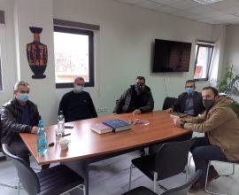 Συνάντηση Δημάρχου Θηβαίων με εκπροσώπους εμπορικών καταστημάτων και εστίασης