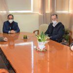 Συνάντηση του υποδιοικητή της 5ης ΥΠΕ Σ. Παπαγεωργίου με τον Δήμαρχο Καρδίτσας